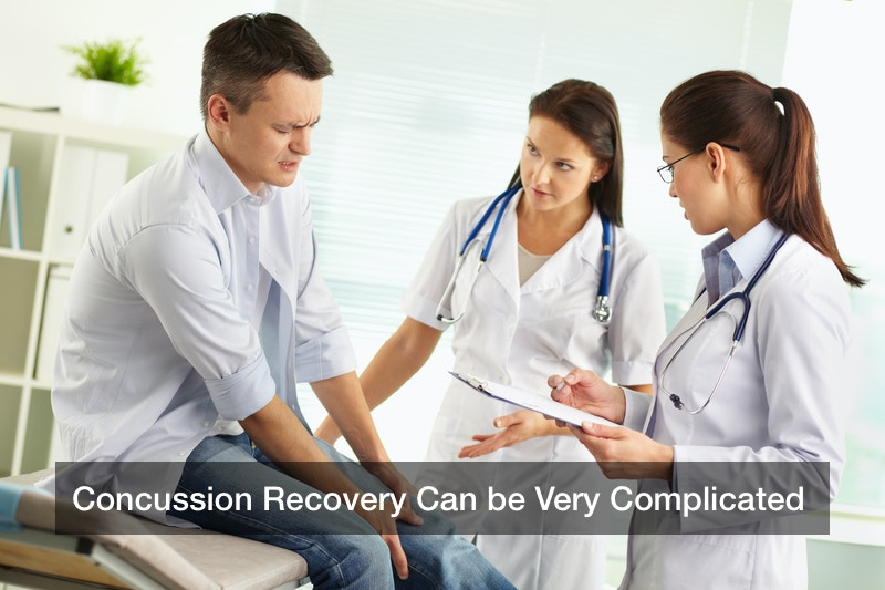 Concussion Recovery Can be Very Complicated